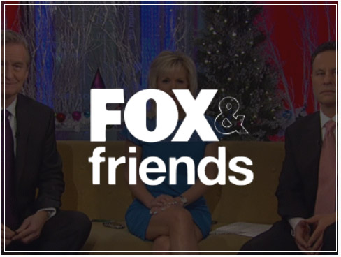 fox and friends logo button