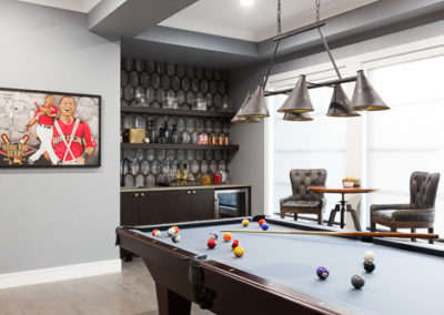 home billiards room design ideas