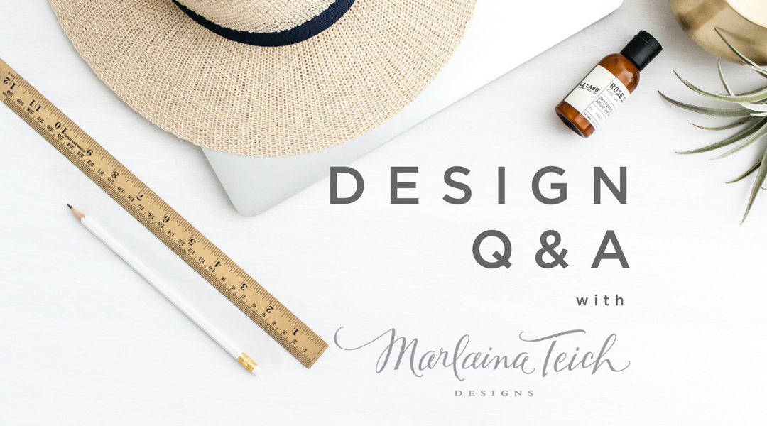 Interior Design Q&A with Marlaina Teich