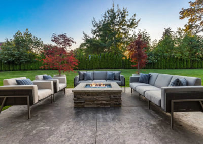 clyde hill interior design backyard firepit