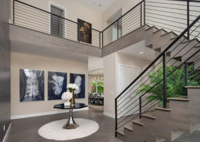clyde hill interior design foyer