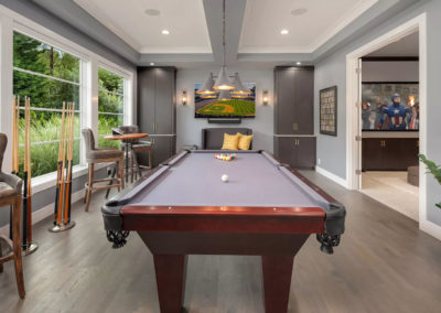 clyde hill interior design game room